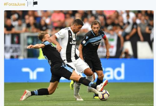 Ювентус - Лацио - 2:0. Текстовая трансляция матча