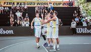 Украина добыла третью победу на чемпионате мира 3х3