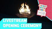 Открытие юношеских Олимпийских игр. LIVE трансляция