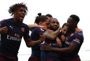Арсенал выиграл 9 матчей подряд впервые с 2015 года