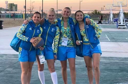 Сборная Украины U-18 лидирует после первого дня юношеской Олимпиады