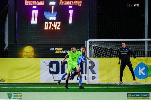 Итоги 1-го тура чемпионата Киева по мини-футболу — без ничьих
