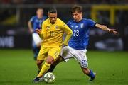 Сборная Украины добилась ничьей в матче против Италии