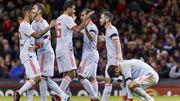 Испания разгромила Уэльс, дубль Алькасера