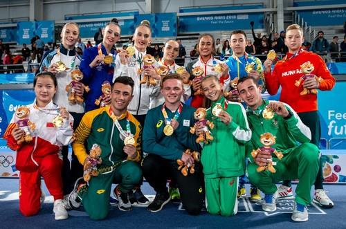 Чепурный завоевал золото юношеской Олимпиады