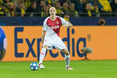 Защитник Монако дисквалифицирован на 5 матчей Лиги 1 за удар соперника