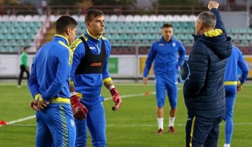 Украина U-21 провела тренировку перед матчем отбора Евро-2019