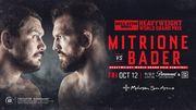 Митрион – Бейдер: прогноз и ставки букмекеров на бой Bellator 207