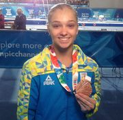 Анастасія Бачинська - бронзова призерка ІІІ Юнацької Олімпіади