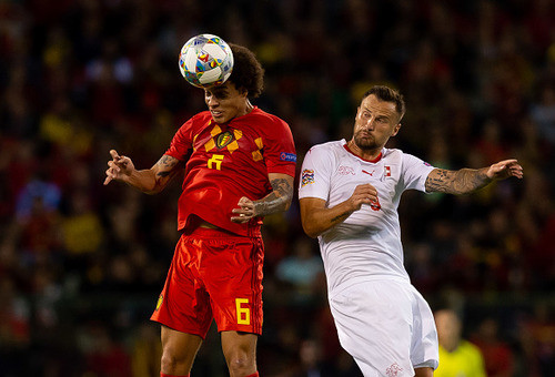 Дубль Лукаку помог бельгийцам обыграть Швейцарию