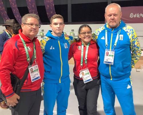 ЮОІ-2018. Гонта завоював бронзу в стрільбі з пістолета на 10 метрів