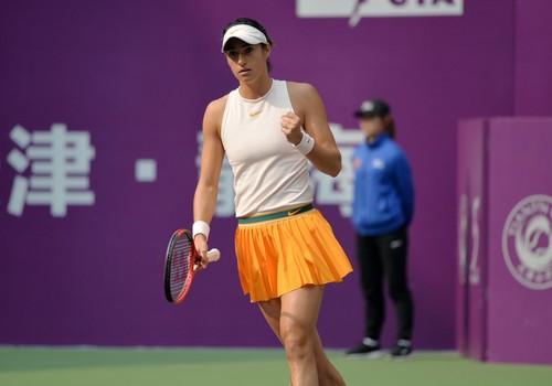 Тяньцзинь. Гарсия обыграла Плишкову в финале и помогла Свитолиной