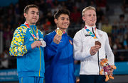 Гімнаст Назар Чепурний - віце-чемпіон ЮОІ-2018