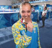 Гімнастка Анастасія Бачинська - дворазова бронзова медалістка ЮОІ-2018