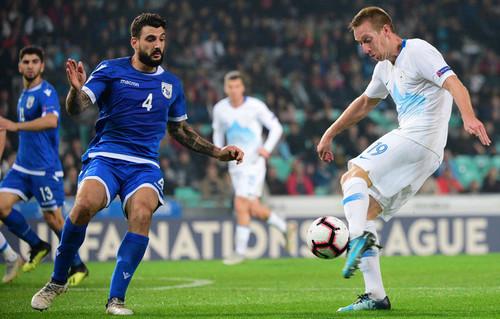 Словения — Кипр — 1:1. Видео голов и обзор матча