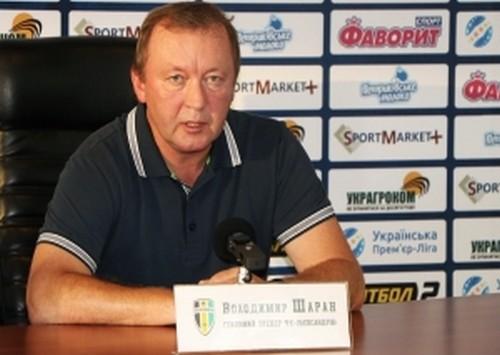 Владимир ШАРАН: «У нас практически все получалось в первом тайме»