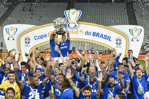 Крузейро второй раз подряд завоевал Кубок Бразилии