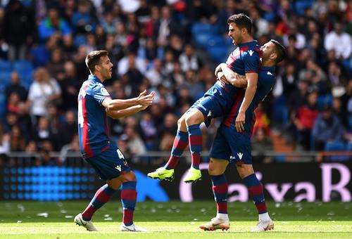 Реал - Леванте - 1:2. Текстовая трансляция матча