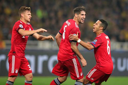 АЕК – Бавария – 0:2. Видео голов и обзор матча