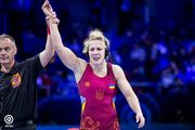 Алла Черкасова – чемпионка мира по вольной борьбе