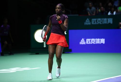 Итоговый турнир WTA. Стивенс стала второй финалисткой