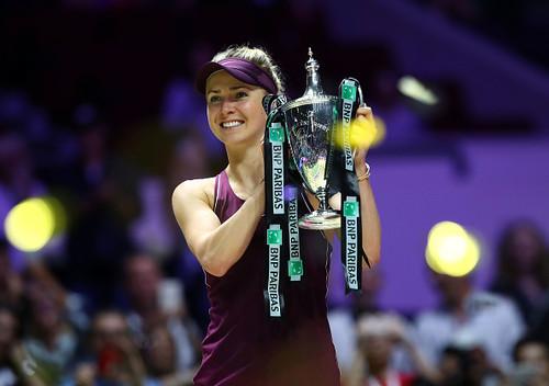 Элина Свитолина выиграла Итоговый турнир WTA!