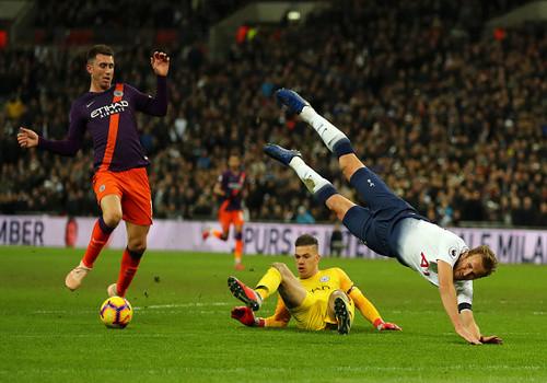 Манчестер Сити на Уэмбли с минимальным счетом одолел Тоттенхэм