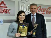 Олена Костевич отримала нагороду кращої спортсменки вересня в Україні