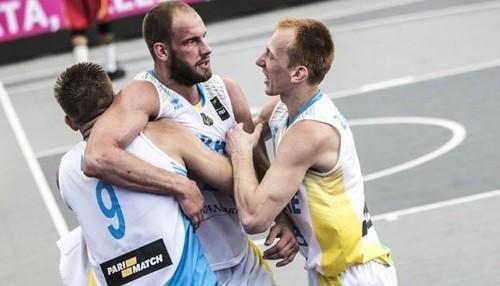 Шість збірних України вийшли на чемпіонат світу з баскетболу 3х3