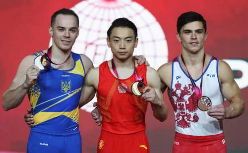 Олег Верняев - вице-чемпион мира на брусьях