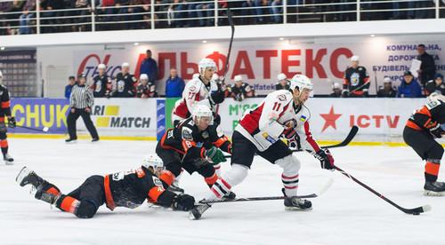 Обзор пятнадцатого тура Украинской хоккейной лиги