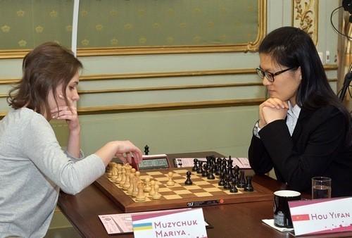 Мария Музычук пробилась в 1/8 финала ЧМ в России через тай-брейк