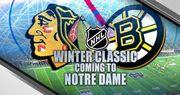 НХЛ. Бостон и Чикаго показали форму на Винтер Классик