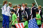 Fed Cup. Сборная Чехии выиграла у США первые два матча