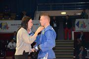 На ЧМ по самбо украинцы завоевали еще четыре медали
