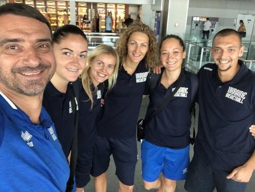 Женская сборная Украины 3х3 отправилась на турнир в Венгрии