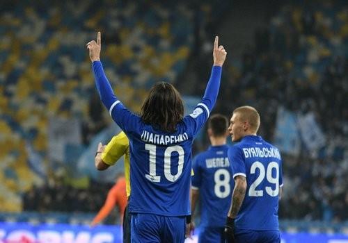 Динамо на НСК Олимпийский разгромило Мариуполь