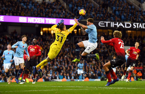 Манчестер Сити - Манчестер Юнайтед - 3:1. Видео голов и обзор матча