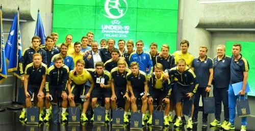 Супряга и Цитаишвили - в составе сборной Украины U-20