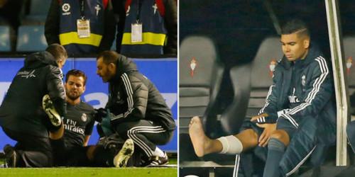 Реал теряет Начо на 2 месяца и Каземиро - на 3 недели