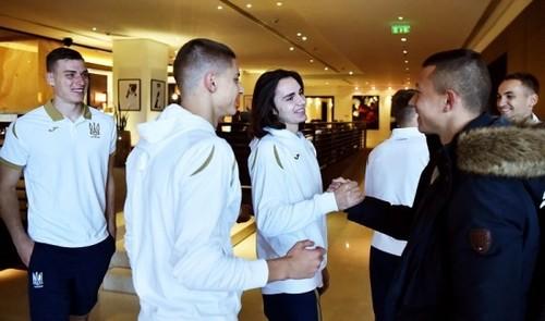 Игроки сборной Украины собрались в Киеве