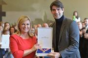 Ведран Чорлука получил государственную награду Хорватии