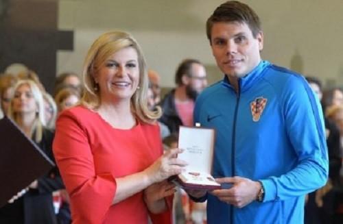 Вукоевич и Вида получили государственные награды в Хорватии
