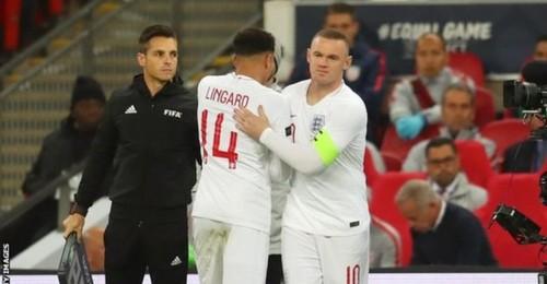 Англия обыграла США, Руни попрощался со сборной