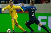 Украина завершила групповой турнир Лиги наций поражением от Словакии