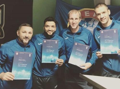 Девич, Эдмар и Гусев получили тренерские лицензии категории А