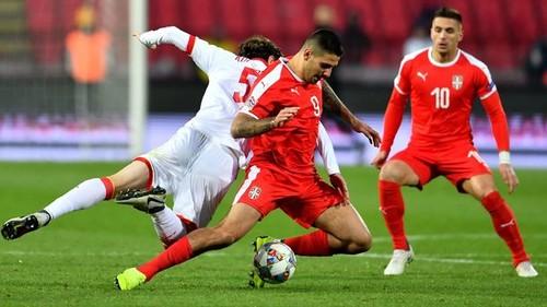 Сербия — Черногория — 2:1. Видео голов и обзор матча