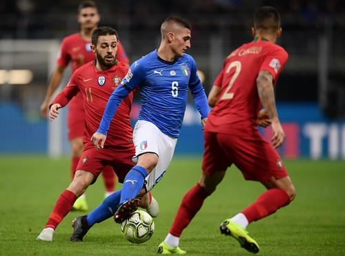 Португалия отстояла ничью с Италией и выиграла группу A3