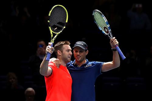 Итоговый турнир ATP. Майк Браян и Джек Сок выиграли парный финал