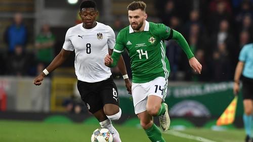 Северная Ирландия – Австрия – 1:2. Видео голов и обзор матча
